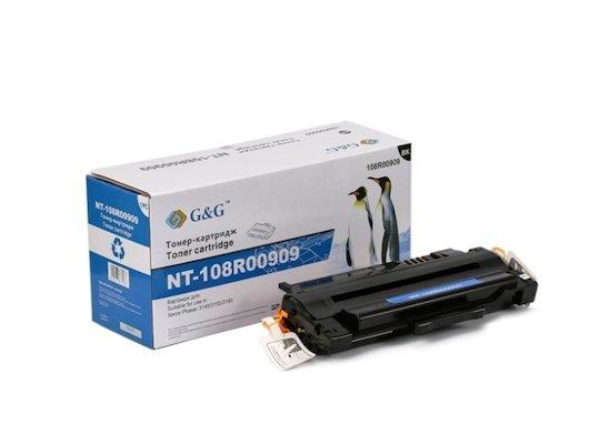 Картридж лазерный GG NT-108R00909 Совместимый для Xerox Phaser 3140/3155/3160 (2500стр)