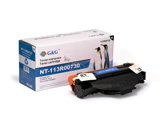 Картридж лазерный GG NT-113R00730 Совместимый для Xerox Phaser 3200MFP (3000стр)