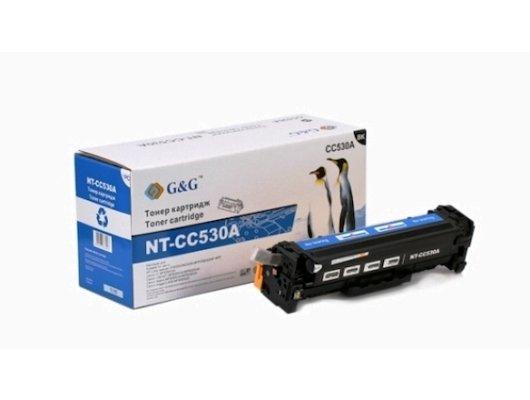 Картридж лазерный GG NT-CC530A Совместимый черный для HP Color LaserJet CM2320/CP2025 Canon MF8330/8350 (3500стр)