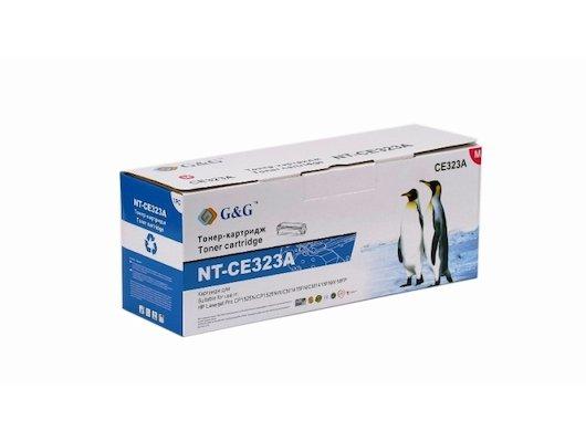 Картридж лазерный GG NT-CE323A Совместимый пурпурный для HP Color LaserJet Pro CP1525N/NW, CM1415FN/FNW (1300стр)