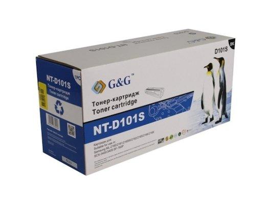Картридж лазерный GG NT-D101S Совместимый для Samsung ML-2160/2161/2162/2165/2166/2168 SCX-3400/3405 (1500стр)