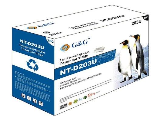 Картридж лазерный GG NT-D203U Совместимый для Samsung ProXpress SL-M4020/M4070 (15000стр)