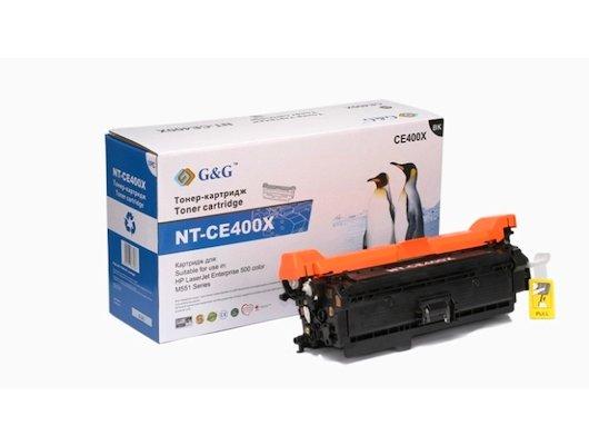 Картридж лазерный GG NT-CE400X Совместимый черный для HP LaserJet EGG NTerprise 500 color M551 (11000стр)