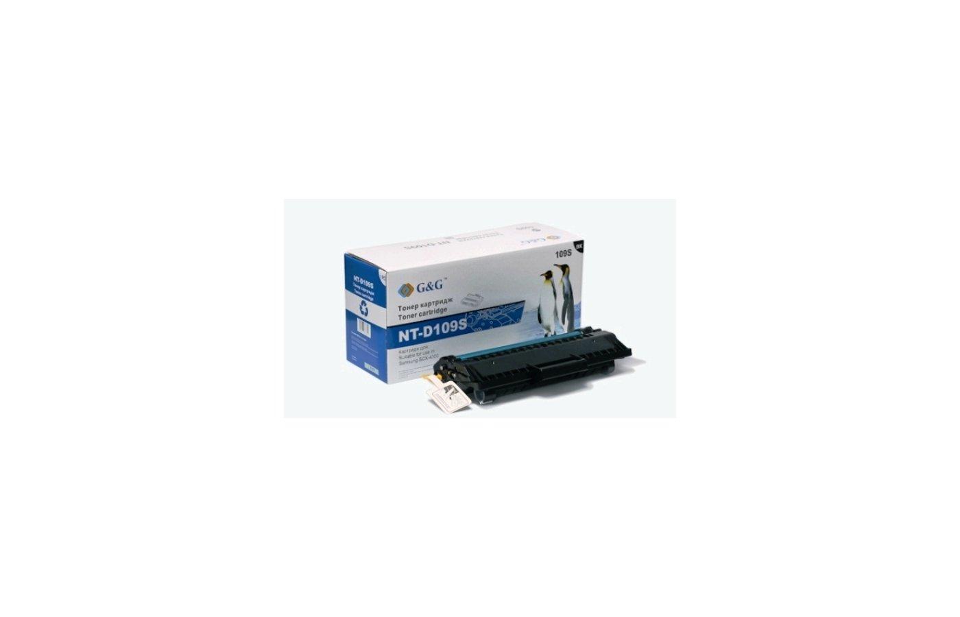Картридж лазерный GG NT-D109S Совместимый для Samsung SCX-4300 (2000стр)