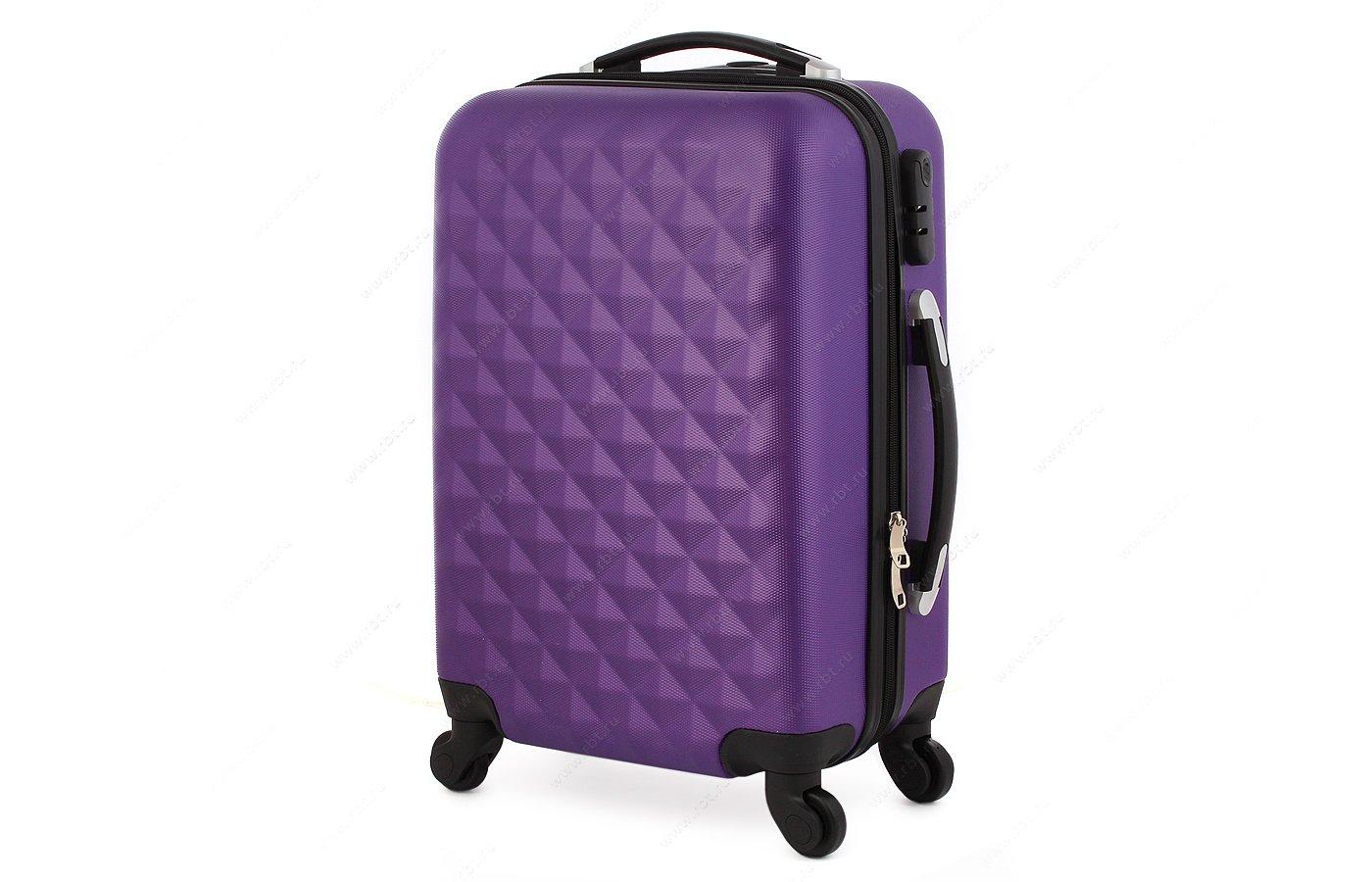 Чемодан LERAN 101TC04 24 фиолетовый
