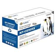 Фото Картридж лазерный GG NT-CE505X Совместимый для HP LaserJet P2055d/P2055dn/P2055x (6500стр)