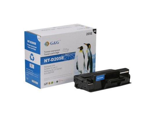 Картридж лазерный GG NT-D205E Совместимый для Samsung ML-3710D/3710ND SCX-5637FR (10000стр)
