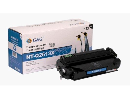 Картридж лазерный GG NT-Q2613X Совместимый увеличенной емкости для НР LaserJet 1300 (4000 стр)
