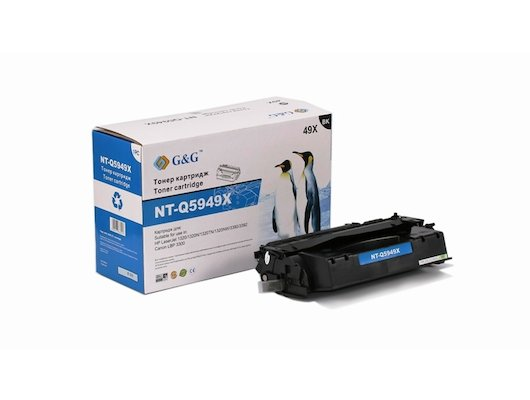 Картридж лазерный GG NT-Q5949X Совместимый для HP LaserJet 1160/1320/3390/3392 Canon LBP-3300/3360 (6000стр)