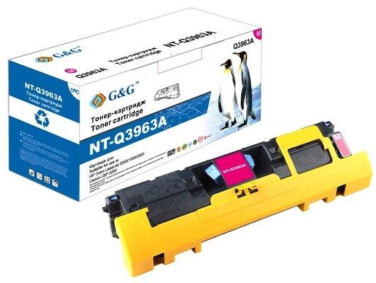 Картридж лазерный GG NT-Q3963A Совместимый пурпурный для HP Color LaserJet 1500/2500/2550 Canon LBP-5200 (4000стр)