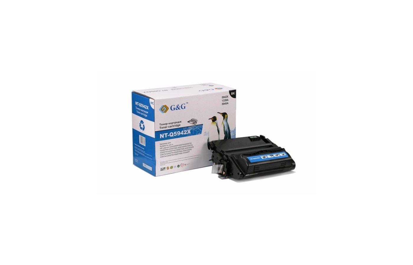 Картридж лазерный GG NT-Q5942X Совместимый для HP LaserJet 4200/4250/4300/4350/4345 (20000стр)
