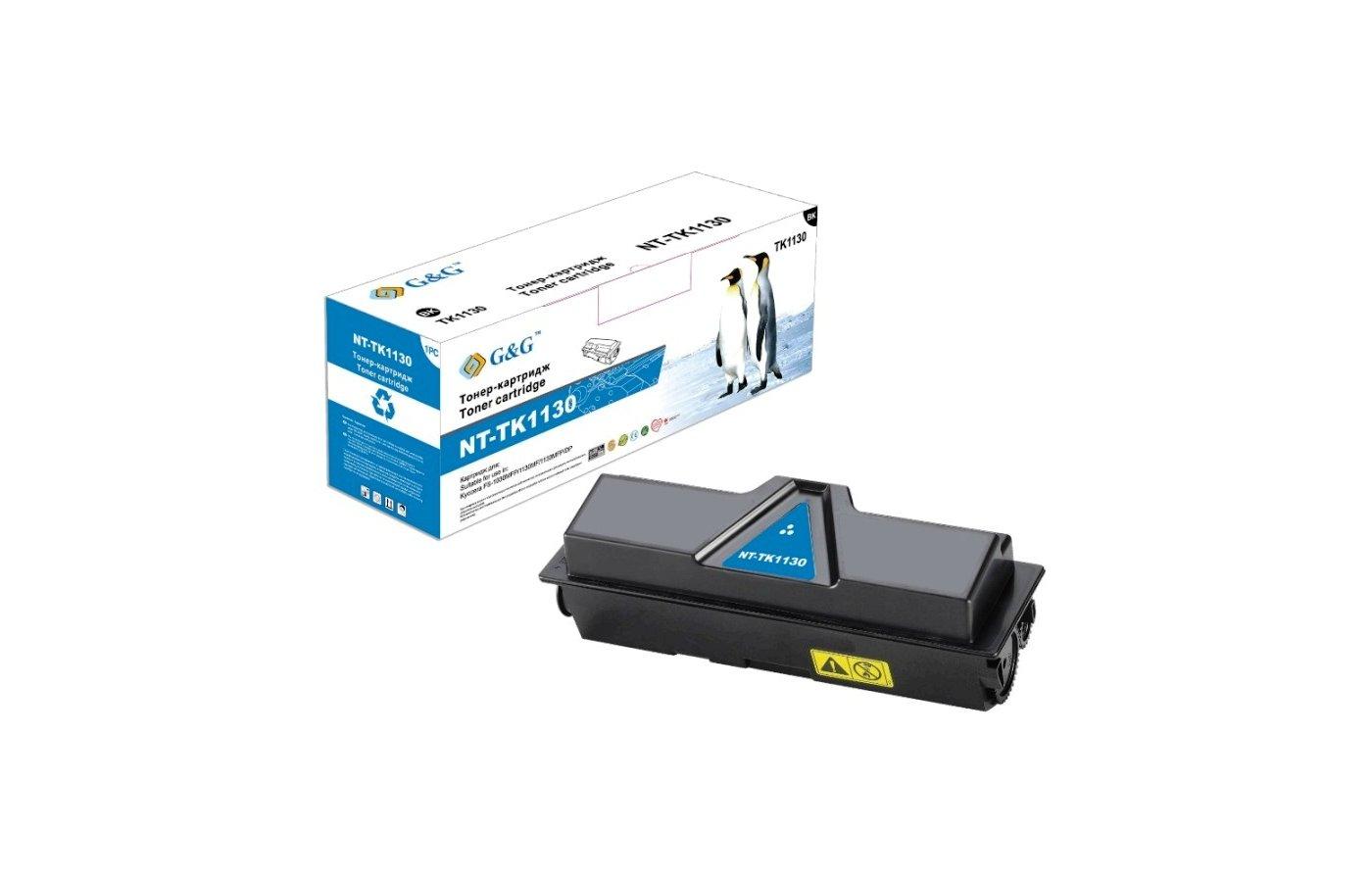 Картридж лазерный GG NT-TK1130 Совместимый для Kyocera 1030MFP/1130MFP (3000стр)