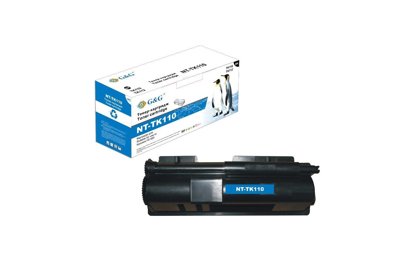 Картридж лазерный GG NT-TK110 Совместимый для Kyocera FS 920 (6000стр)