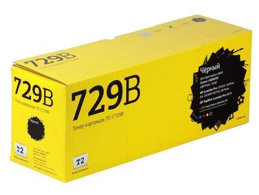 Картридж лазерный T2 совместимый для Canon TC-C729B для Canon i-SENSYS LBP7010C/7018C/HP LJ Pro CP1025/1025nw/Pro 100