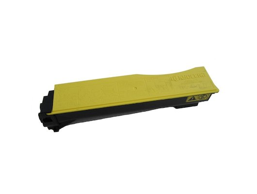 Картридж лазерный Kyocera TK-540Y для FS-C5100DN. Жёлтый. 4000 страниц.