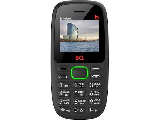 Мобильный телефон BQ BQM-1820 Barcelona Green