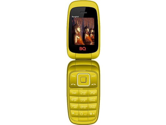 Мобильный телефон BQ 1801 Bangkok Yellow