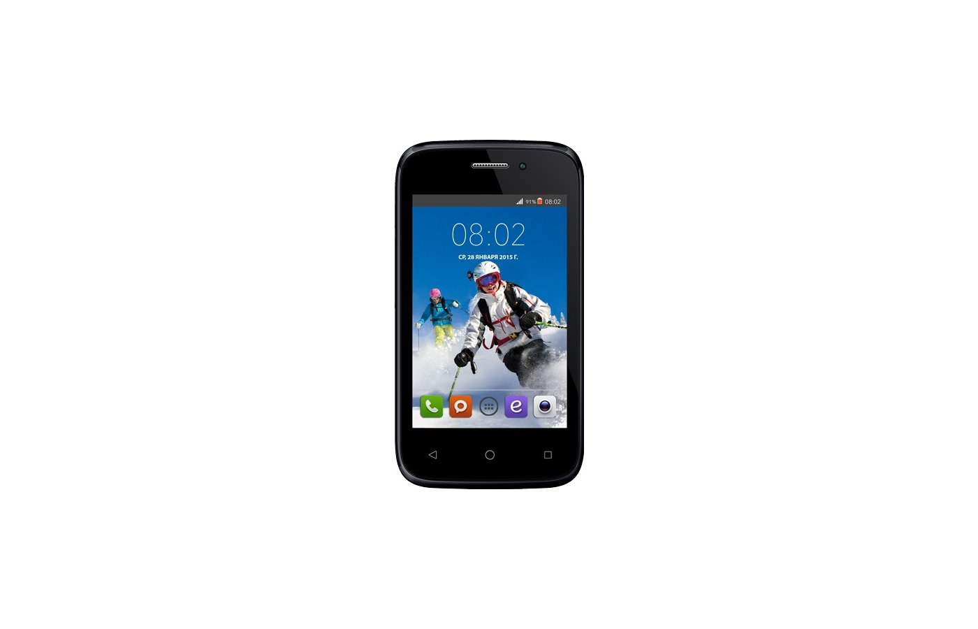 Смартфон BQ BQS-3510 Aspen Mini Black