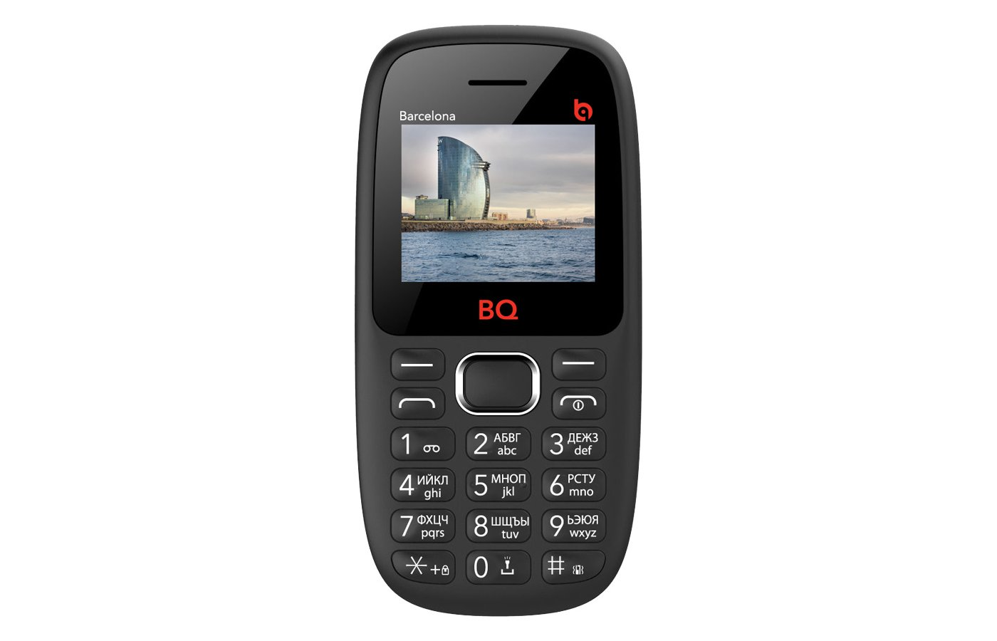 Мобильный телефон BQ BQM-1820 Barcelona Black