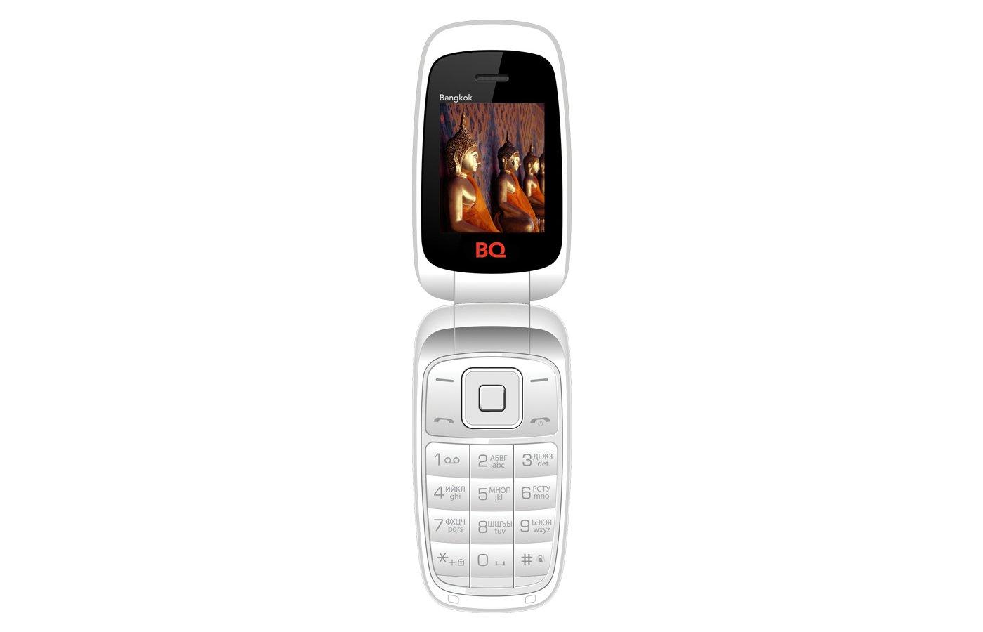 Мобильный телефон BQ 1801 Bangkok White