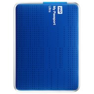 Внешний жесткий диск Western Digital (WDBBRL5000ABL-EEUE) USB 3.0 500Gb My Passport Ultra 2.5 синий