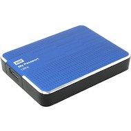 "Фото Внешний жесткий диск Western Digital USB 3.0 2Tb WDBNFV0020BBL-EEUE My Passport Ultra (5400 об/мин) 2.5"" синий"