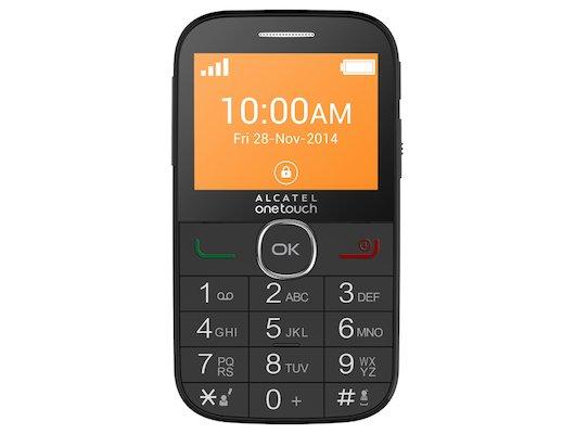Мобильный телефон Alcatel 2004G black