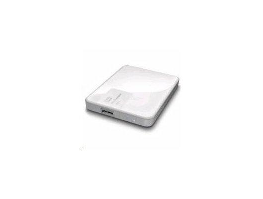 """Внешний жесткий диск Western Digital USB 3.0 1Tb WDBDDE0010BWT-EEUE My Passport Ultra (5400 об/мин) 2.5"""" белый"""