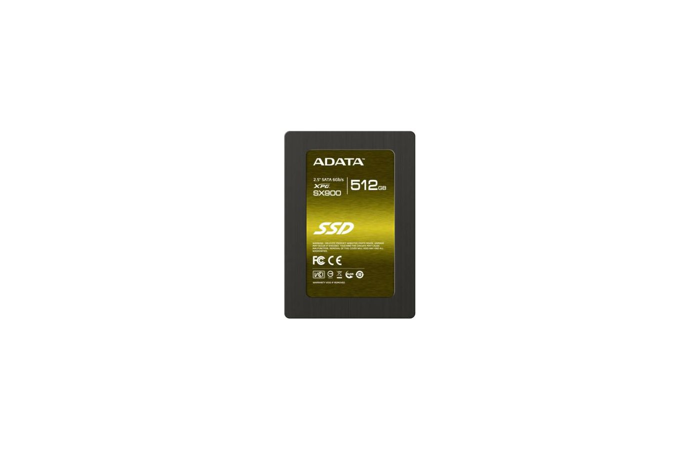 "SSD жесткий диск A-Data Original SATA-III 512Gb ASP900S3-512GM-C 2.5"" w535Mb/s r555Mb/s"