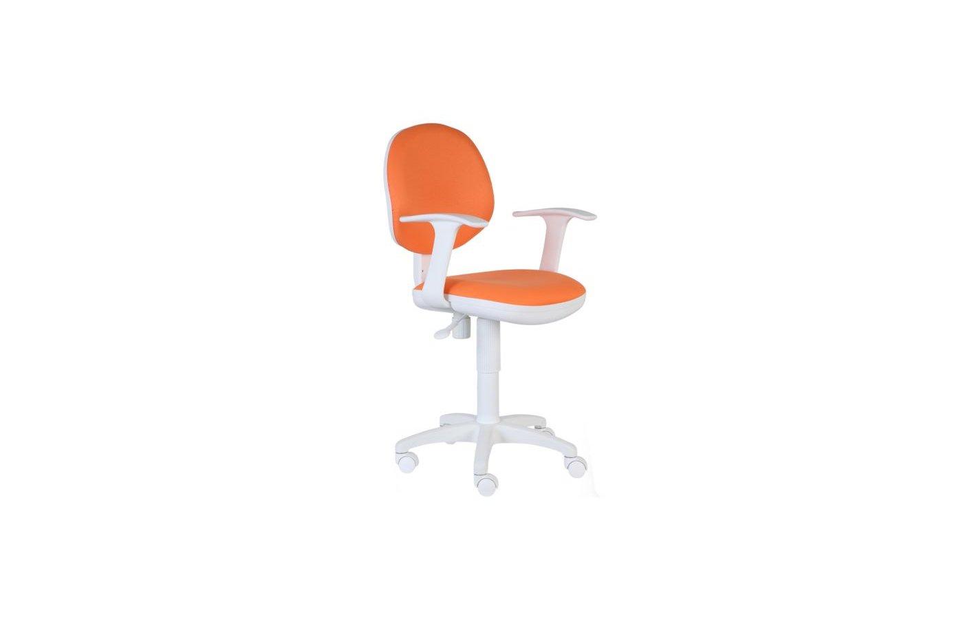 Бюрократ CH-W356AXSN/15-75 оранжевый 15-75 (пластик белый)