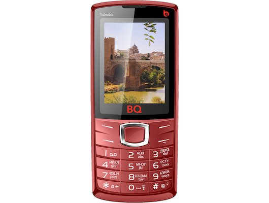 Мобильный телефон BQ BQM-2406 Toledo Red