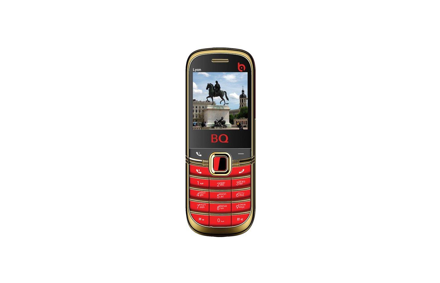 Мобильный телефон BQ BQM-1402 Lyon Gold Edition Red