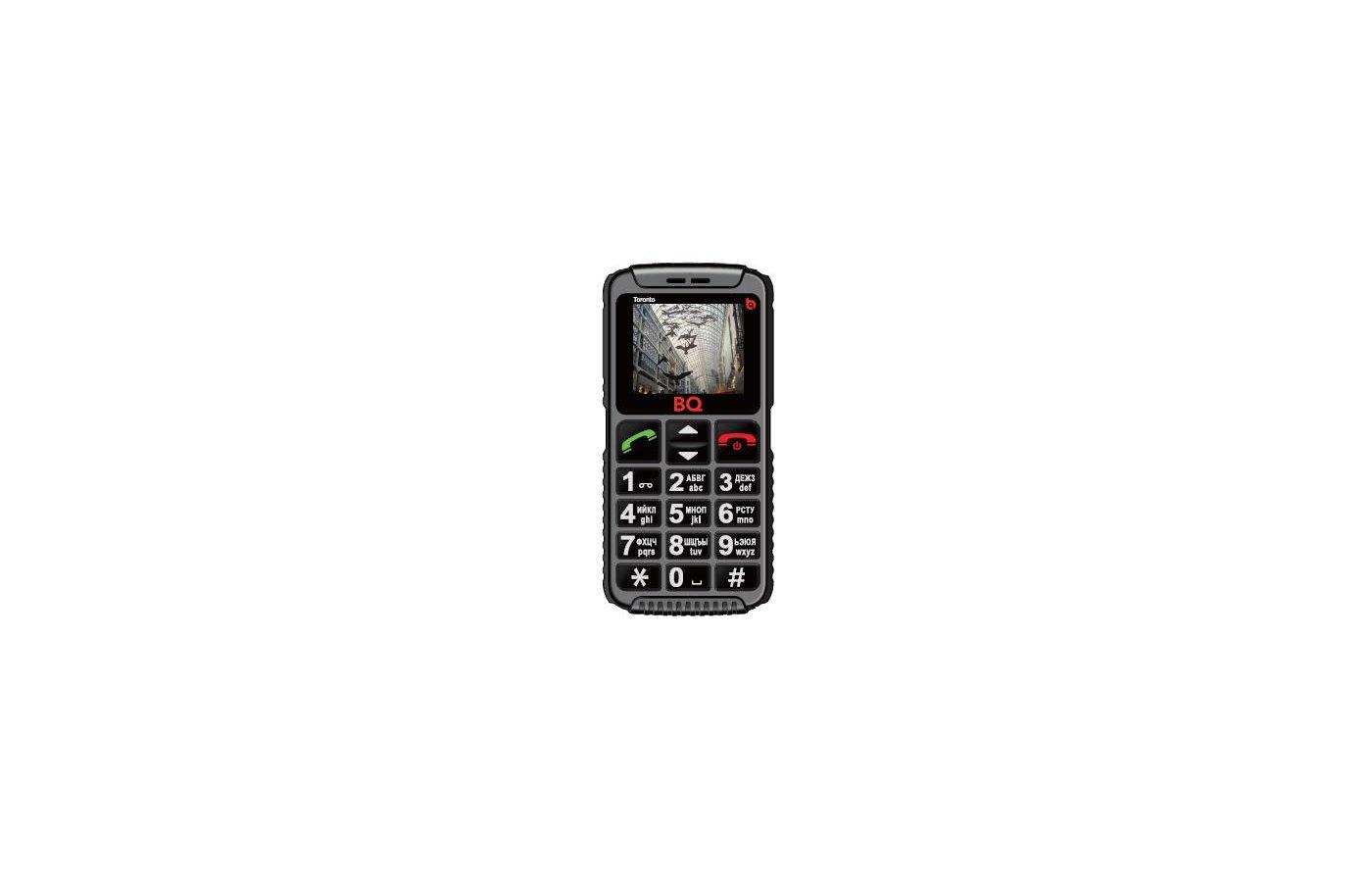 Мобильный телефон BQ BQM-1815 Toronto Black