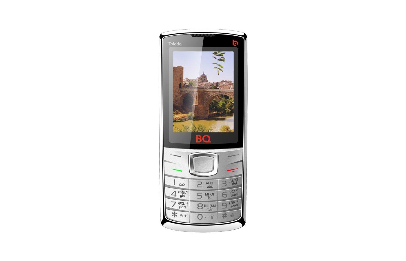 Мобильный телефон BQ BQM-2406 Toledo Silver