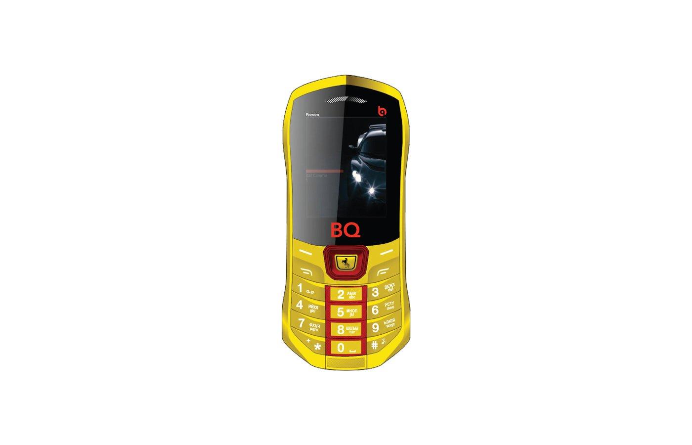 Мобильный телефон BQ BQM-1822 Ferrara Yellow
