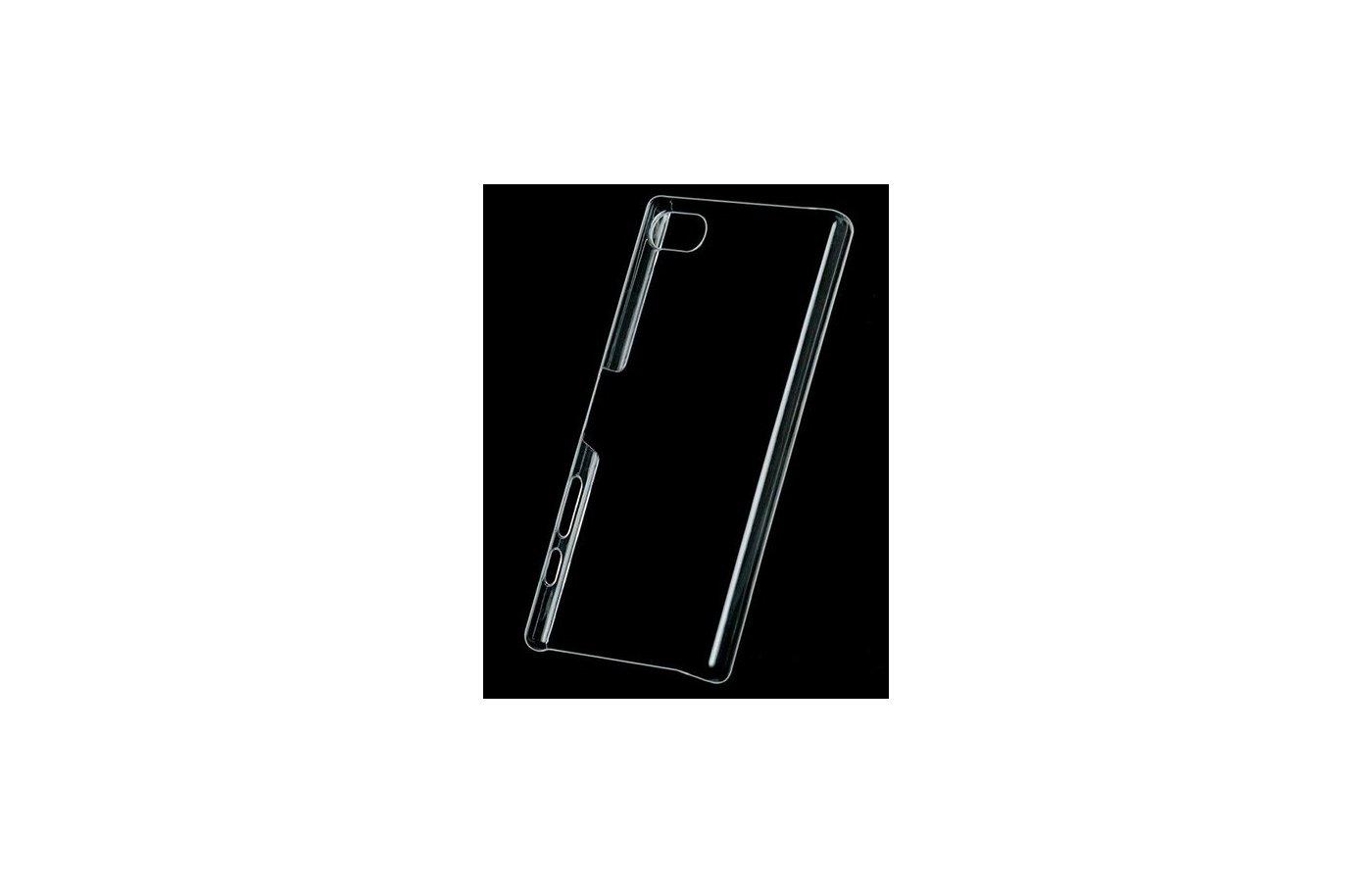 Чехол iBox Crystal для Sony Xperia Z5 Compact прозрачный