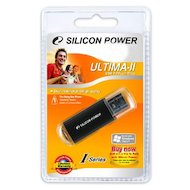 Фото Флеш-диск Silicon Power 4Gb Ultima II-I Series SP004GBUF2M01V1K USB2.0 черный