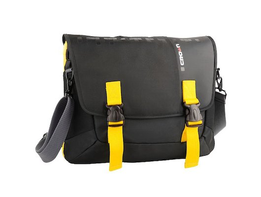 "Кейс для ноутбука CROWN CMCCH-3315BBY (Harmony Series) black and yellow 15,6"""
