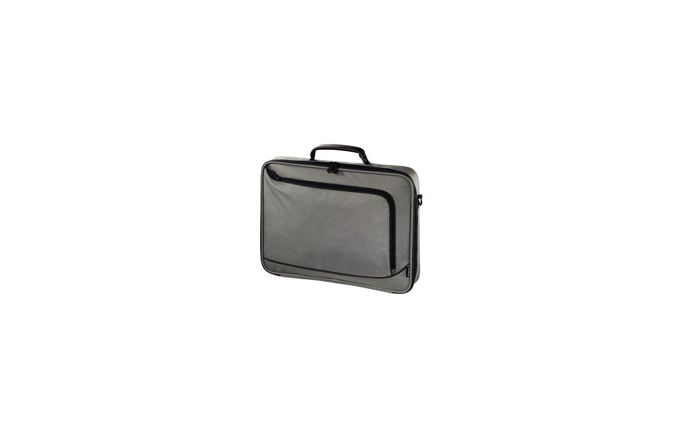 """Кейс для ноутбука Hama для ноутбука 17.3"""" Sportsline Bordeaux Серый Полиэстер"""