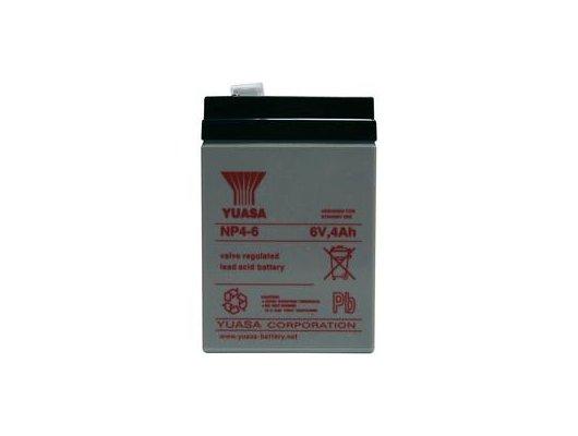 Блок питания Батарея Yuasa NP4-6 6V/4Ah