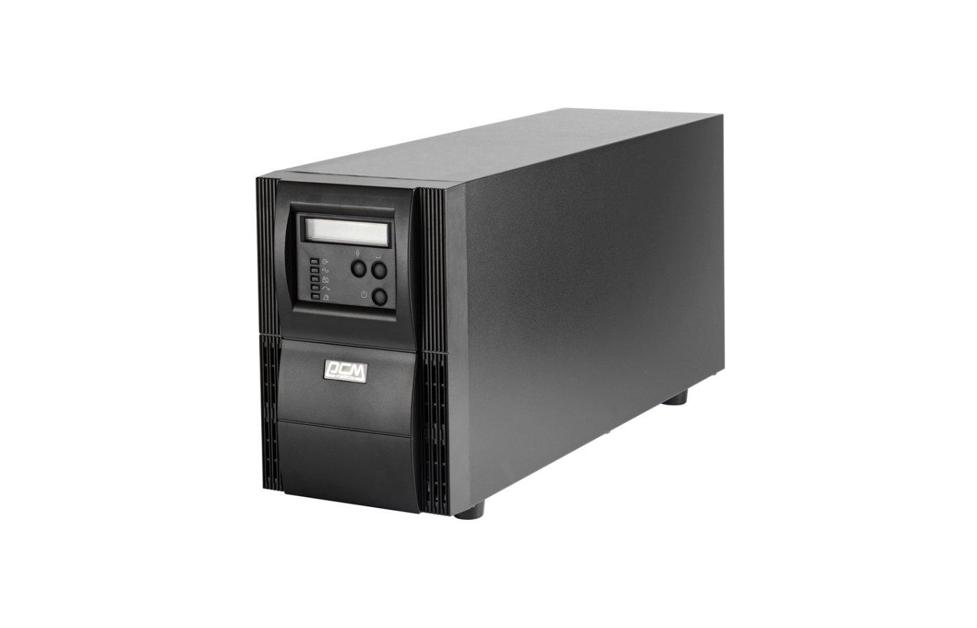 Блок питания PowerCom VGS-3000XL 3000 ВА черный