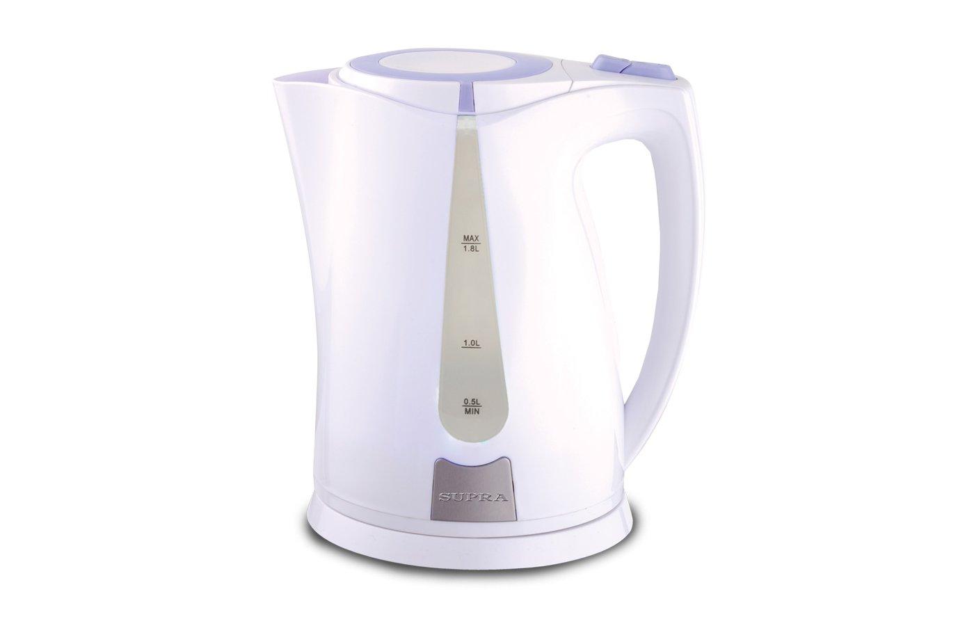 Чайник электрический  SUPRA KES-1821 white/violet