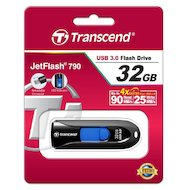 Фото Флеш-диск Transcend 32Gb Jetflash 790 TS32GJF790K USB3.0 черный