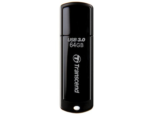 Флеш-диск Transcend 64Gb Jetflash 700 TS64GJF700 USB3.0 черный