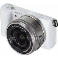 Фотоаппарат со сменной оптикой SONY ILCE A5100LW 16-50mm white