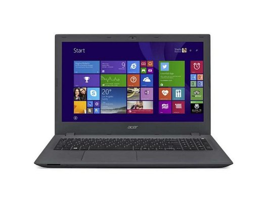Ноутбук Acer E5-573-37JN /NX.MVHER.005/ intel i5 4005U/4Gb/500Gb/DVDRW/15.6/WiFi/Win8 Grey