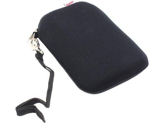 """Кейс для жесткого диска Hama Neoprene (95505) черный HDD 2.5"""""""