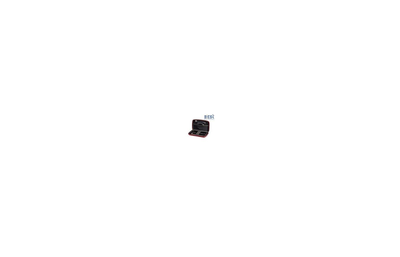 """Кейс для жесткого диска Hama EVA (95523) красный HDD 2.5"""""""
