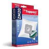 Фото Пылесборники TOPPERR 1412 ZM20 фильтр синтетический д/пылесоса ZELMER 4шт