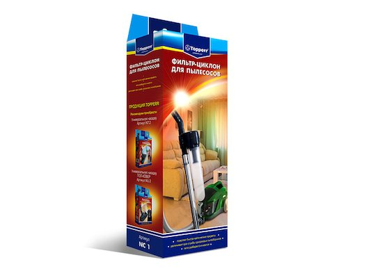 Фильтр для пылесоса TOPPERR 1210 NC-1 Фильтр-циклон для пылесосов 32 -35 мм.